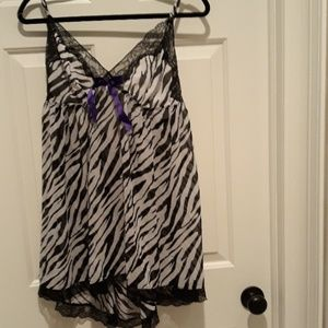 Brand new animal print lingerie 1X plus size 18/20